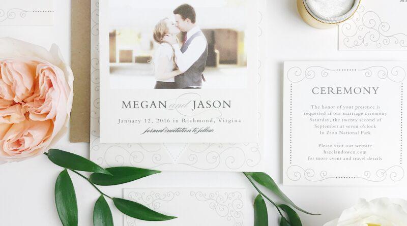 Using a wedding invite maker online